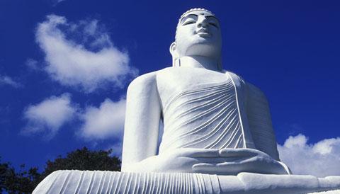 Bahiravokanda Vihara Buddha Statue Sri Lanka