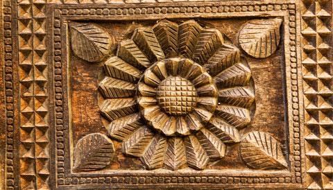 Embekka Devale Temple Sri Lanka