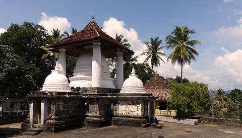 Temple of the Gadaladenia Sri Lanka