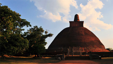 Jethawanaramaya Stupa Sri Lanka