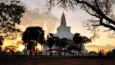 Mirisaveti Stupa Sri Lanka