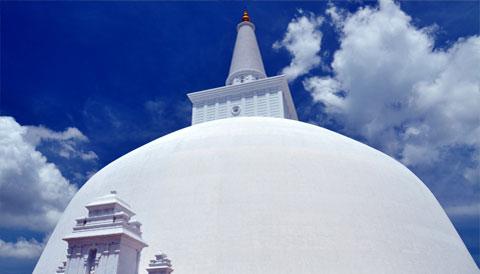 Ruwanwelisseya Dagoba Sri Lanka