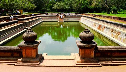 Twin Baths (Kuttam Pokuna) Sri Lanka