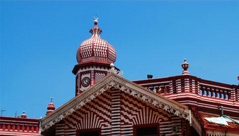 Jami Ul-Alfar Mosque Sri Lanka