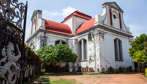 Wolvendaal Church Sri Lanka